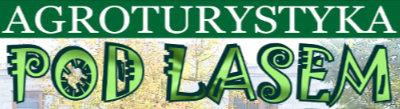 Agroturystyka pod lasem logo